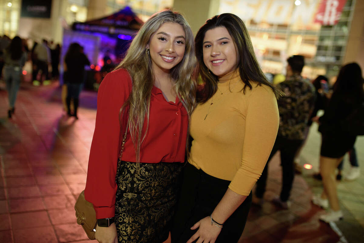 Fans at Toyota Center in Downtown Houston to see Bad Bunny perform on Sunday, December 1, 2019