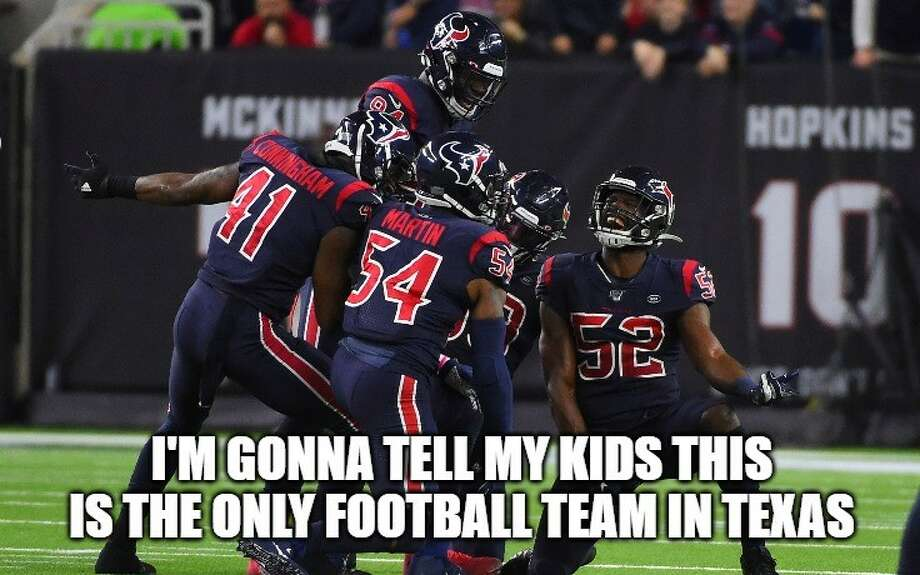 PHOTOS: The best memes from the Texans' win and the rest of Week 13 Photo: AP; Meme: Matt Young Photo: Photo: AP; Meme: Matt Young