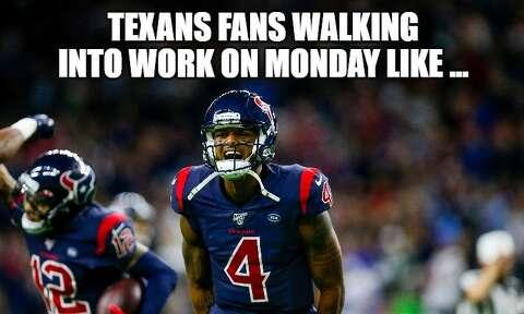 Hilarious Memes Celebrate Texans Win Over Patriots Houston
