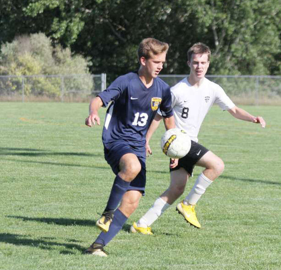 Manistee senior Will Elbers was named All-State honorable mention for his performance on the soccer field this season. Photo: News Advocate/File Photo