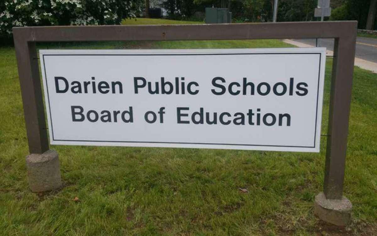Darien's Board of Education building at 35 Leroy Avenue