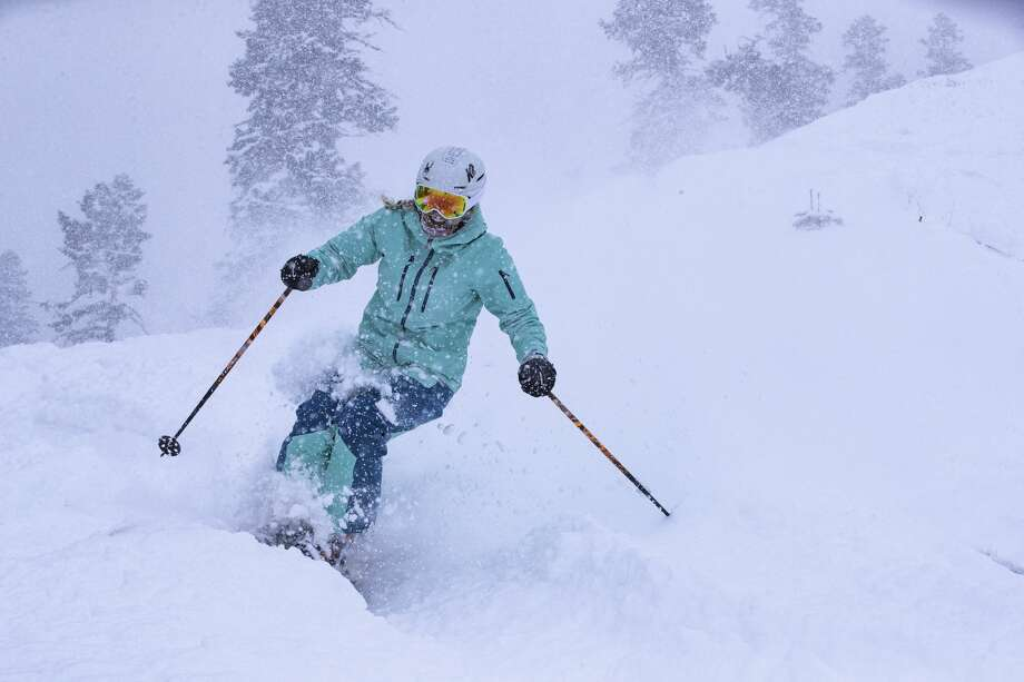 Over nine inches of new snow fell in Squaw Valley Alpine Meadows on Friday. The region saw over 2-3 feet of new snow during the weekend. Photo: Ben Arnst / Squaw Valley Alpine Meadows