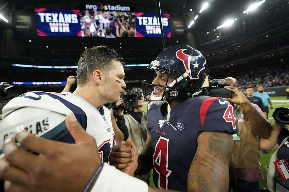 On Sunday night, Bill O'Brien, Deshaun Watson and the Houston Texans beat the New England Patriots, 28-22, in a primetime AFC showdown. >>> Click ahead to see the Texans' most memorable wins of the decade. Photo: David J. Phillip, Associated Press