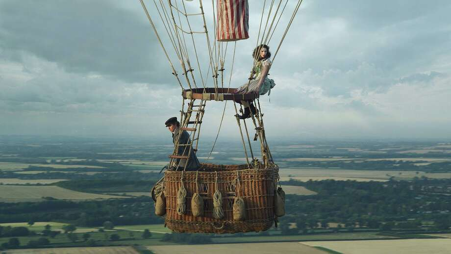 "Eddie Redmayne, left, and Felicity Jones in ""The Aeronauts."" MUST CREDIT: Handout courtesy of Amazon Studios Photo: Amazon Studios / Handout / Handout"
