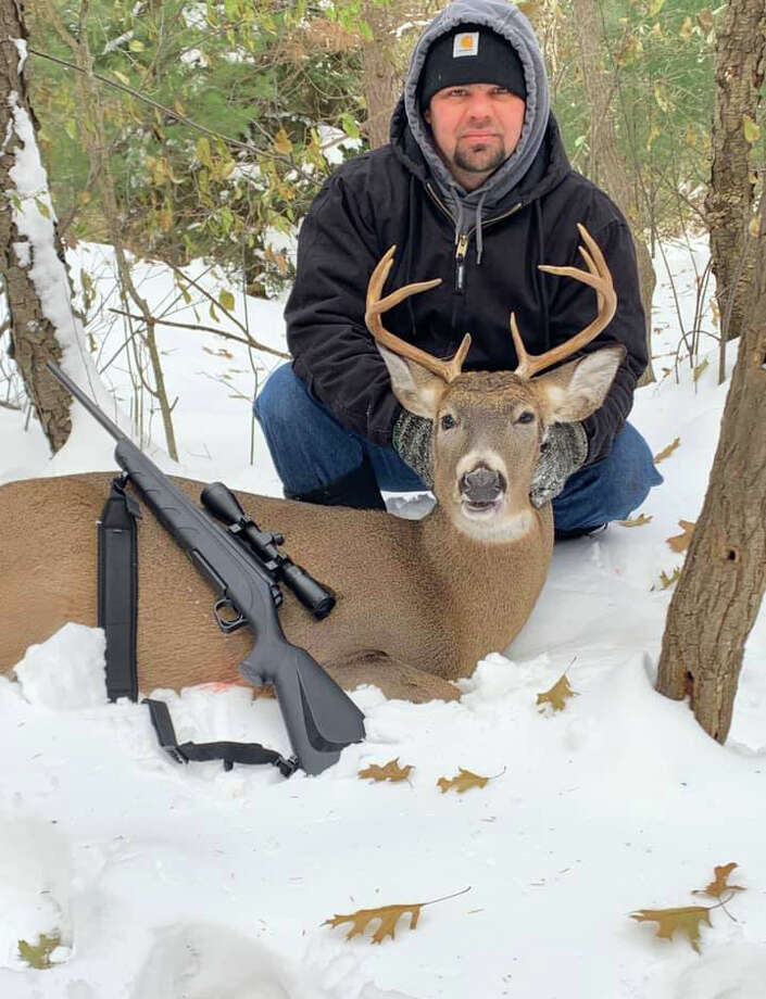 Seth Black, 8 point, Manistee Photo: Photo Submitted By Jessica Black