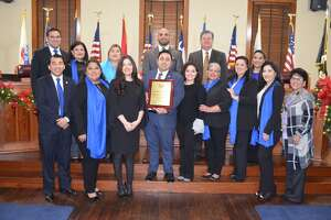 Webb County Court at Law II Judge Victor Villarreal was recognized by Webb County Commissioners Court last Monday.