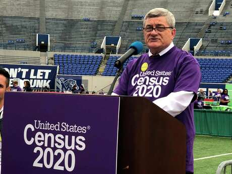 U.S. Census Bureau Director Steven Dillingham speaks at an event launching the 2020 Census Statistics in Schools program on Monday, Oct. 28, 2019, in Memphis, Tenn.
