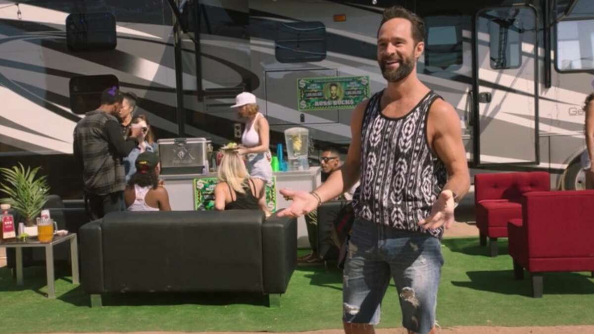 Russ Hanneman soaking up the vibes at RussFest in HBO's