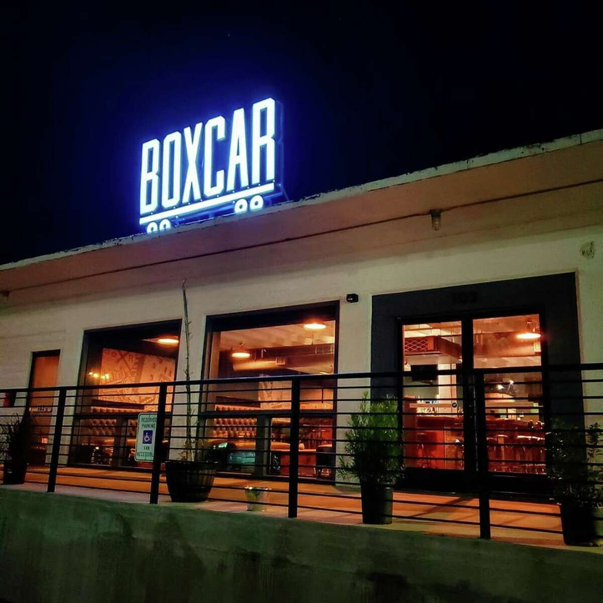 Boxcar Bar 125 Lamar The cocktail bar is owner TonyCoss'third business. He also owns LaRocaCantina and Green Lantern.Cossand his team celebrated the opening of his third bar on Saturday. He expects the atmosphere of Boxcar to be similar to LaRoca, but with more pop and R&B music on the weekends. During the week, customers will enjoy a