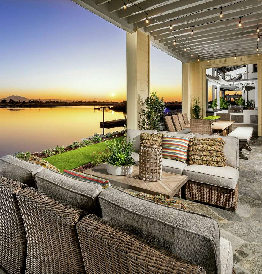 Delta Coves, which opened September, is a master-planned community by DMB Development of 560 waterfront and water-facing homes. Photo: Delta Coves /