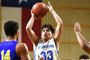 Estevan Barrientos was named first-team all-district after averaging 8 points per game last season.