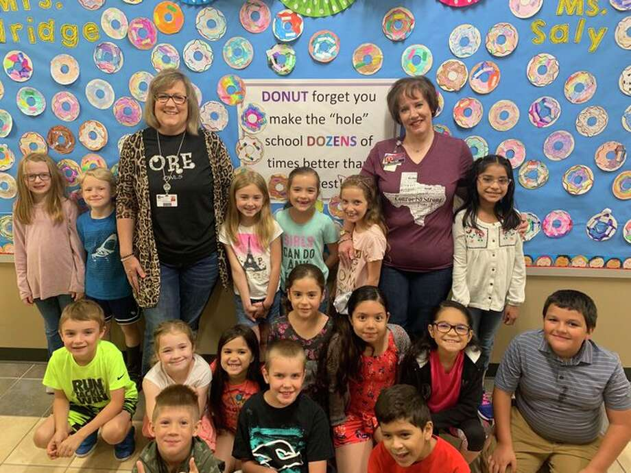 An anonymous donor recently paid off hundreds of dollars in lunch dues for students at Oak Ridge Elementary School in Conroe. Photo: Courtesy Conroe ISD