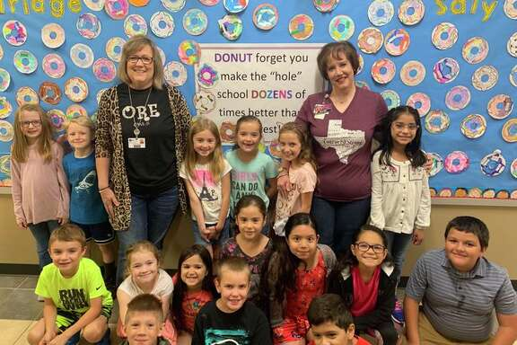 An anonymous donor recently paid off hundreds of dollars in lunch dues for students at Oak Ridge Elementary School in Conroe.