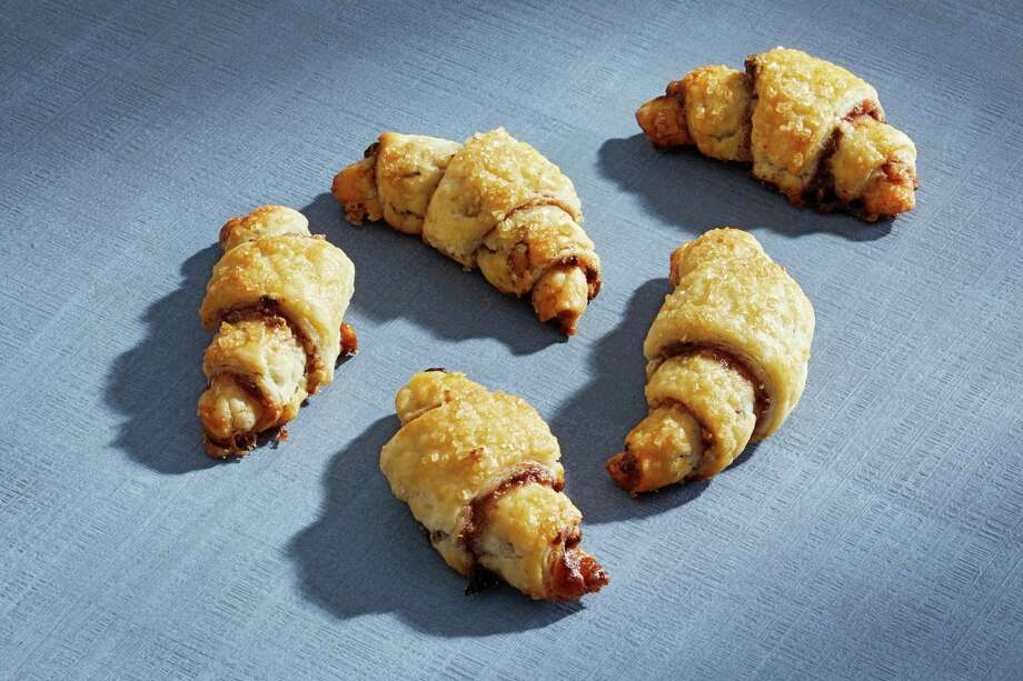 Cherry-Pecan Rugelach. Photo: Photo By Tom McCorkle For The Washington Post. / For The Washington Post