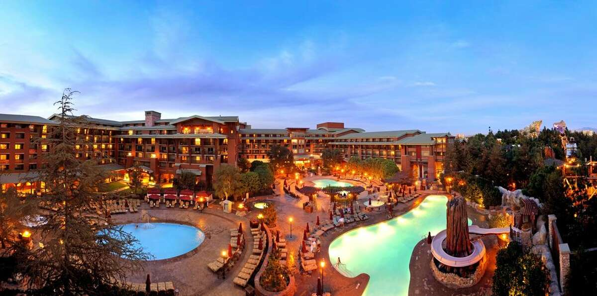 The Grand Californian Hotel & Spa at Disneyland. Click ahead to see more photos inside the Disneyland hotels.