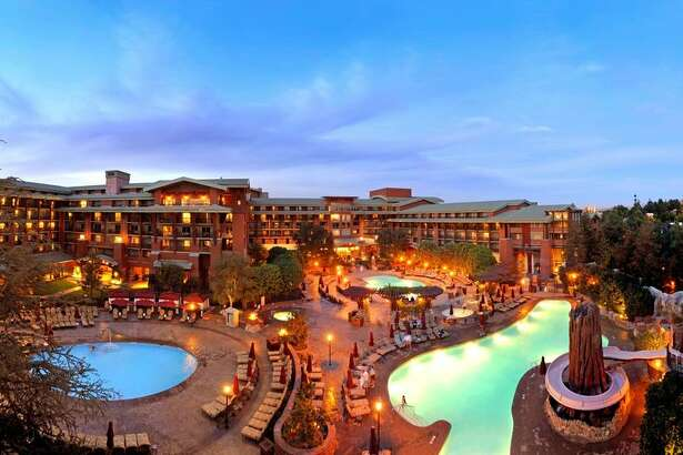 The Grand Californian Hotel & Spa at Disneyland.