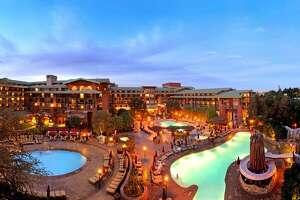 The Grand Californian Hotel & Spa at Disneyland.