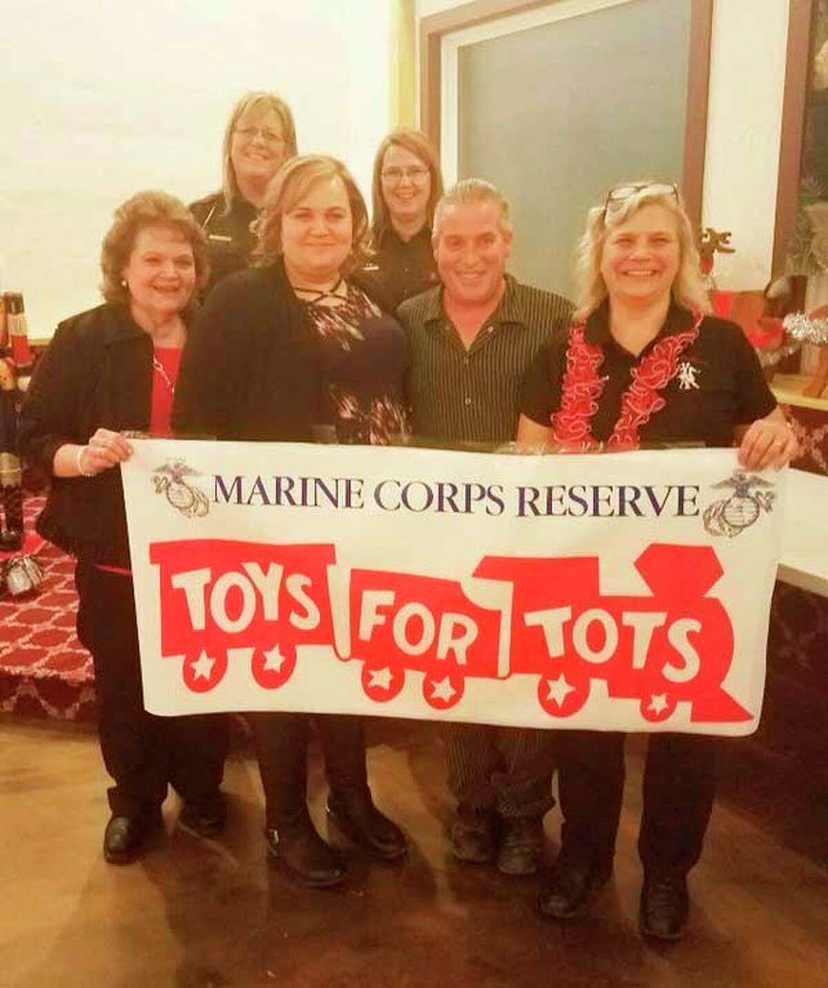 With Christmas quickly approaching, the Huron County Toys for Tots drive is underway. (Kelly Leavine/Courtesy Photo)