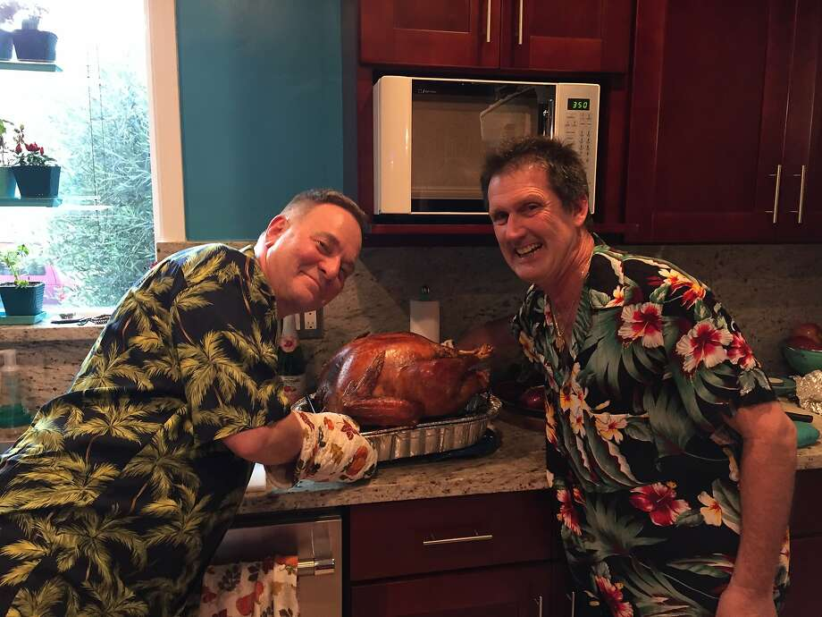 Thanksgiving at the Fisher-Paulsons. Photo: Kevin Fisher-Paulson