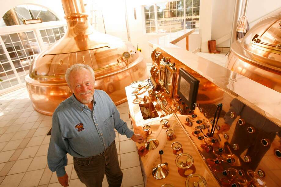 Anderson Valley Brewing Co. co-founder Ken Allen established a national reputation for the Boonville brewery before selling the company in 2010. Photo: Craig Lee / The Chronicle 2006