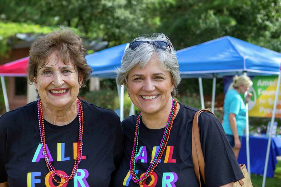 With two years of growing success already behind it, officials with The Woodlands Pride — Montgomery County's first and only LGBTQ pride and inclusion festival — are already planning for a bigger and better festival with a renewed message of inlcusion and acceptance in 2020. Although specifics of the 2020 event are still in the early stages of planning, Ryan Elkins, the chief operating officer and one of the founding board members of the festival, said The Woodlands Pride team is already in action with bold plans and ideas. Here are some scenes from during The Woodlands Pride Festival on Saturday, September 28, 2019 at Town Green Park in The Woodlands. Photo: Cody Bahn, Houston Chronicle / Staff Photographer / © 2019 Houston Chronicle