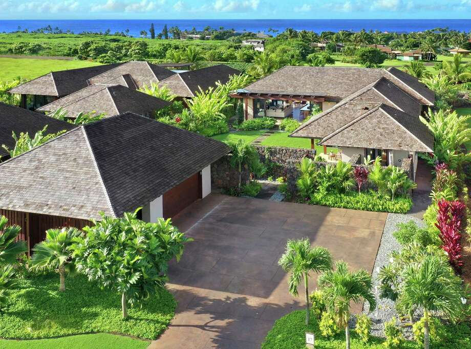 Kainani Hale, Unit 17, a 3,681-square-foot luxury residence in Kaua'i, has four bedrooms and four-and-a-half bathrooms. Photo: Kukui'ula