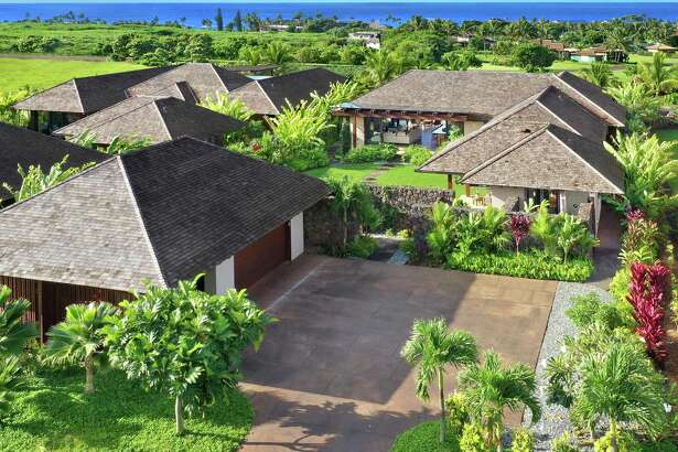 Kainani Hale, Unit 17, a 3,681-square-foot luxury residence in Kaua'i, has four bedrooms and four-and-a-half bathrooms.