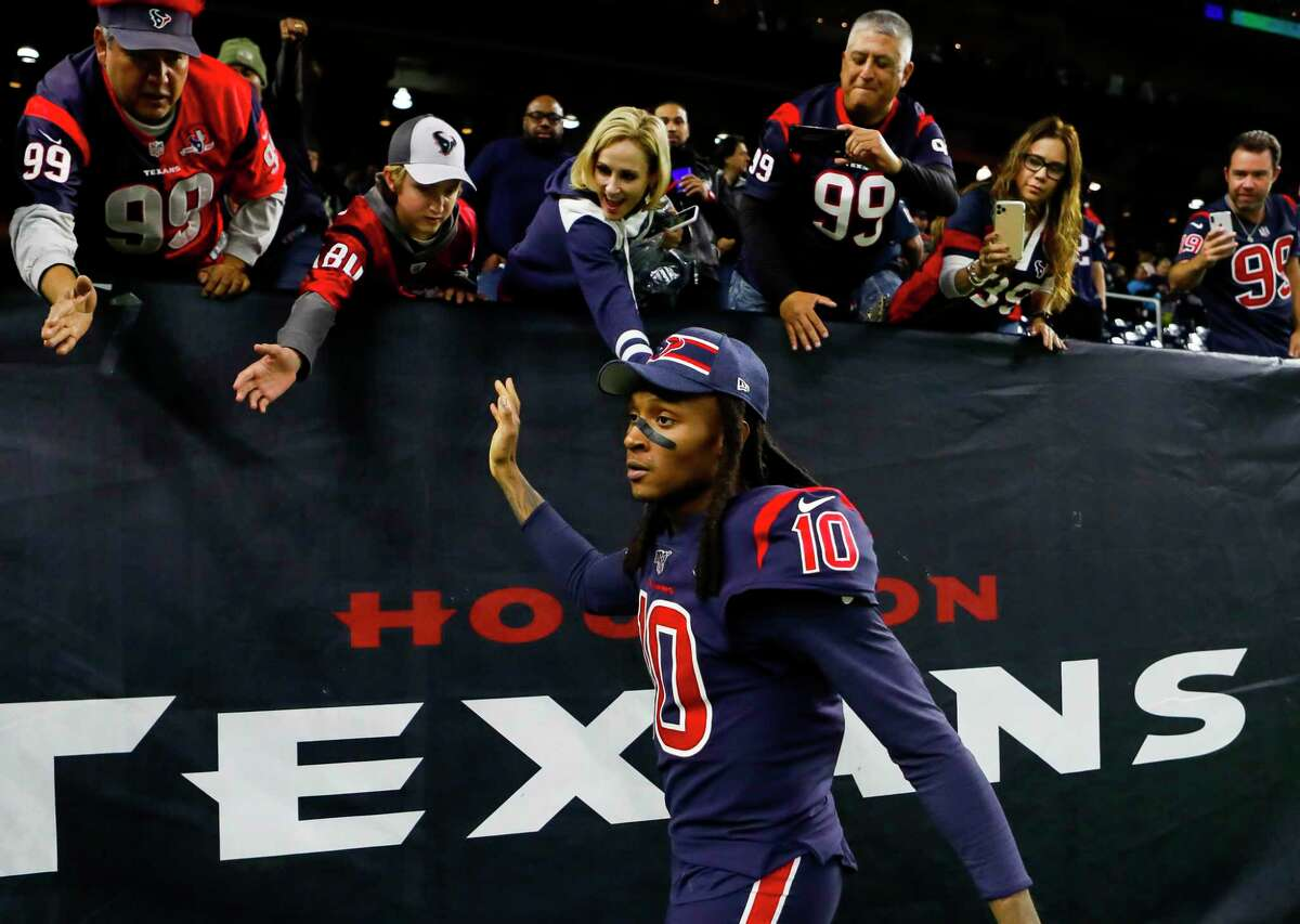A great deal of Texans fans are angered by the trade of star receiver DeAndre Hopkins. But the vocal minority who supported it and corresponded with columnist Jerome Solomon left him shaking his head.
