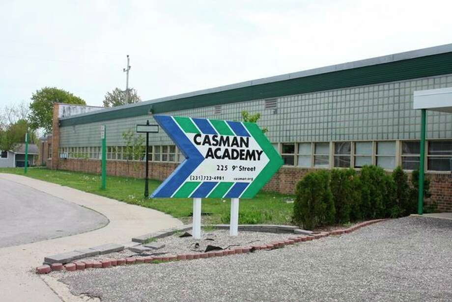 School officials at CASMAN Academy are looking at ways to make improvements to their building. The building is getting older and need of repairs, but since they are a charter school they can't ask for a sinking fund or bond proposal. All improvements must be paid for with general funds. (Ken Grabowski/News Advocate)