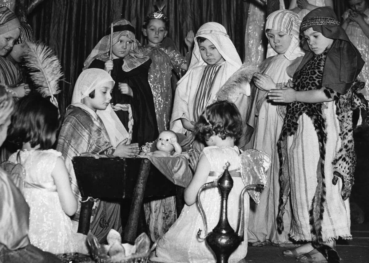 1920: Nativity plays are all the rage By 1920, Christmas celebrations were shifting away from the public space and more toward the family. Nativity plays, a tradition still shared today, had become extremelypopular for school children in 1920. This slideshow was first published on theStacker.com