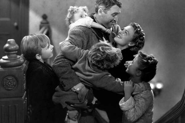1946: 'It's A Wonderful Life' released George Bailey's journey to self-acceptance almost didn't happen, and certainlywasn't the Christmas classic many know and love today. The shooting was incrediblyexpensive and ran far longer than initially intended. The movie didn't even make its budget back upon release. It wasn't until 1974 after the film forgot to renew its copyright that it became a Christmas staple, as television stations could play it non-stop without paying. This slideshow was first published on theStacker.com