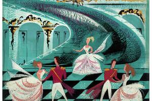 "Mary Blair's ""Cinderella"" Original Concept Painting (Walt Disney, 1950)."
