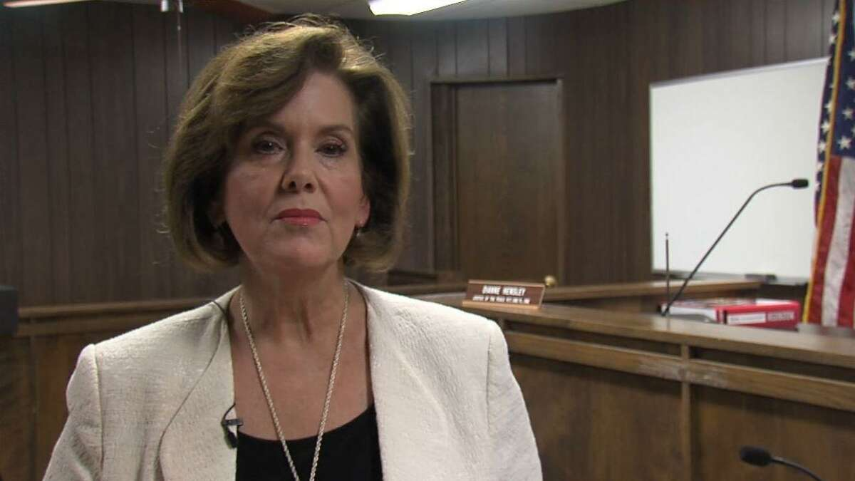Justice of the Peace Dianne Hensley, of McLennan County. Photo courtesy KXXV-TV, Waco.