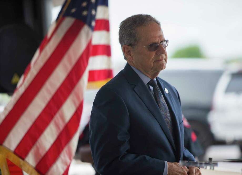 State Rep. Rick Miller, R-Sugar Land, at a presser celebrating progress on the Sugar Land 95 Memorial Project in Sugar Land, Monday, June 17, 2019. Gov. Abbott signed a bill Miller authored that would allow Fort Bend County to operate and maintain the cemetery where 95 African American remains were found last year. Photo: Juan Figueroa, Houston Chronicle / Staff Photographer / © 2019 Juan Figueroa / Houston Chronicle
