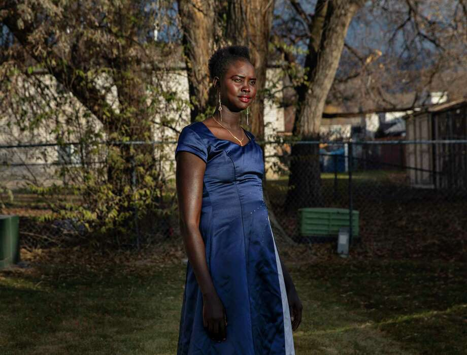 Apiel Kuot is a 28-year-old refugee from South Sudan, who now lives in Midvale, Utah. Photo: Photo For The Washington Post By Kim Raff / Kim Raff