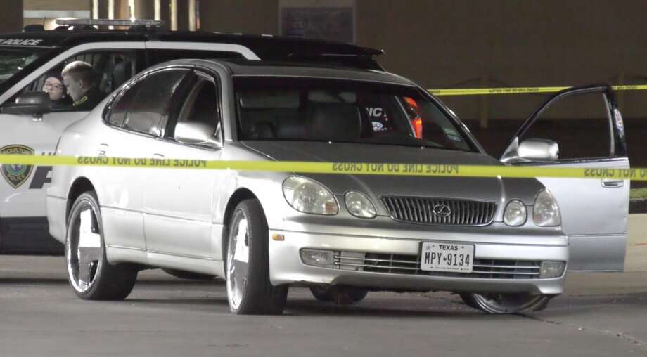 Houston police investigate after a driver was shot in the 9600 block of Aldine Westfield Road and drove himself to a gas station in the 9500 block of Jensen Drive on Monday, Dec. 2, 2019. Photo: OnScene.TV