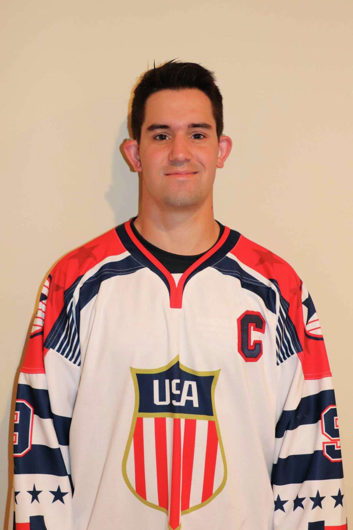 Peter Gintoli of Shelton was recently named captain of the elite deaf hockey players representing the United States in the 19th Winter Deaflympics to be held Dec. 12-21 in Valtellina Valchiavenna, Italy.