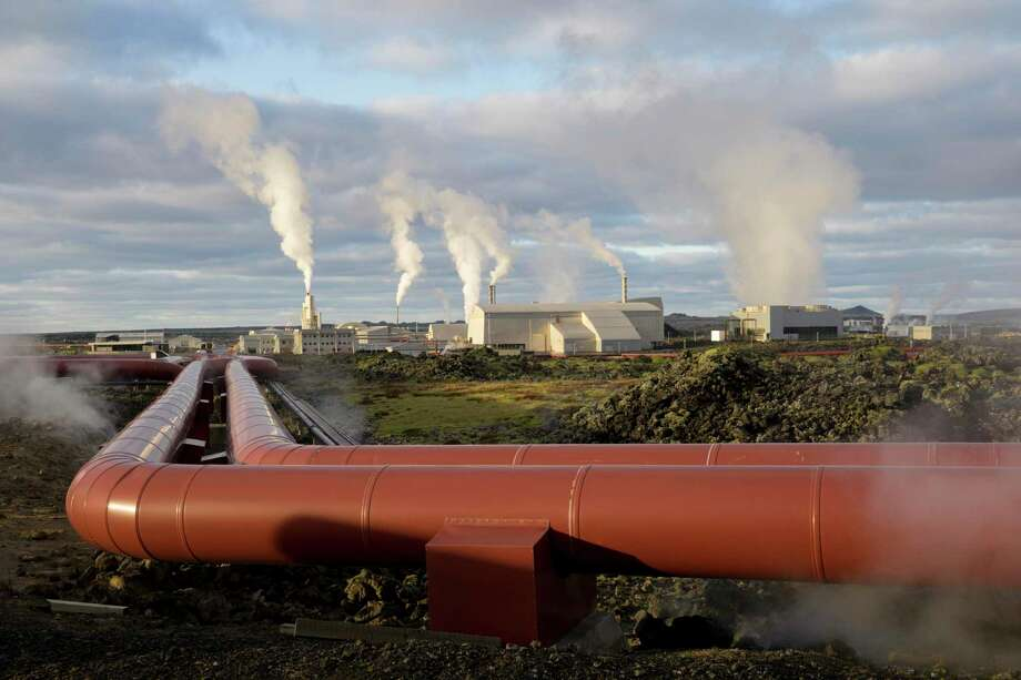 The Cockrell School of Engineering at the University of Texas at Austin will use a $1 million grant from the Department of Energy to become a hub for geothermal energy expertise and start-ups. Photo: Egill Bjarnason, STR / Associated Press / Copyright 2019 The Associated Press. All rights reserved.