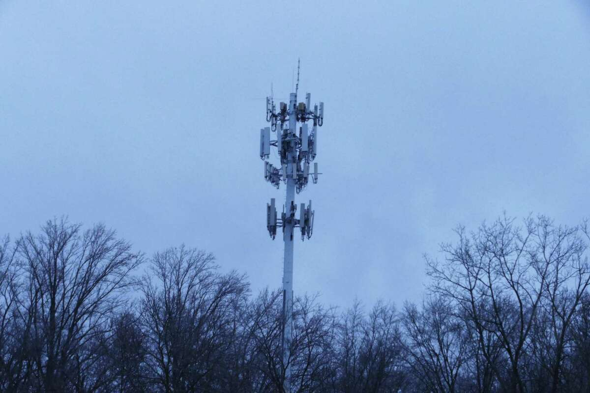 The cell tower in Vista, New York is .7 miles up Connecticut road, Route 123, from the New Canaan border, and is reportedly 140 feet tall. People on Soundview Lane in New Canaan, near where a cell tower is being proposed, believe this tower may be why they have cell service, and therefore do not need to have one put on private property in their neighborhood. The Connecticut Siting Council came away from a virtual hearing on Thursday, July 9, 2020, about the cell tower, with a message from the public that the cell tower is not needed in the town, and that it could fall on children who would be going to school near it, such as those going to nearby St. Luke's School. At least one speaker at the hearing, Roy Abromowitz, a New Canaan resident who lives who lives at the intersection of Soundview Lane, and Laurel Road, said people come from other areas to sit in cars to obtain cell service in the neighborhood, and the cell tower would not be practical in an area with four-acre lots, a reservoir and a lake in its 1.5-mile coverage area. The cell tower is being proposed for Keith Richey's, also a New Canaan resident's, private property at 183 Soundview Lane.