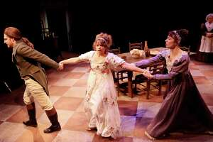 """Main Street Theater presents """"The Wickhams: Christmas at Pemberley"""" Thursday, Dec. 5, through Saturday, Dec. 21, at 2540 Times Blvd. The play set in the classic Jane Austen novel, """"Pride and Prejudice"""" shows what goes on downstairs in the servant quarters while Miss Bennet interacts upstairs."""