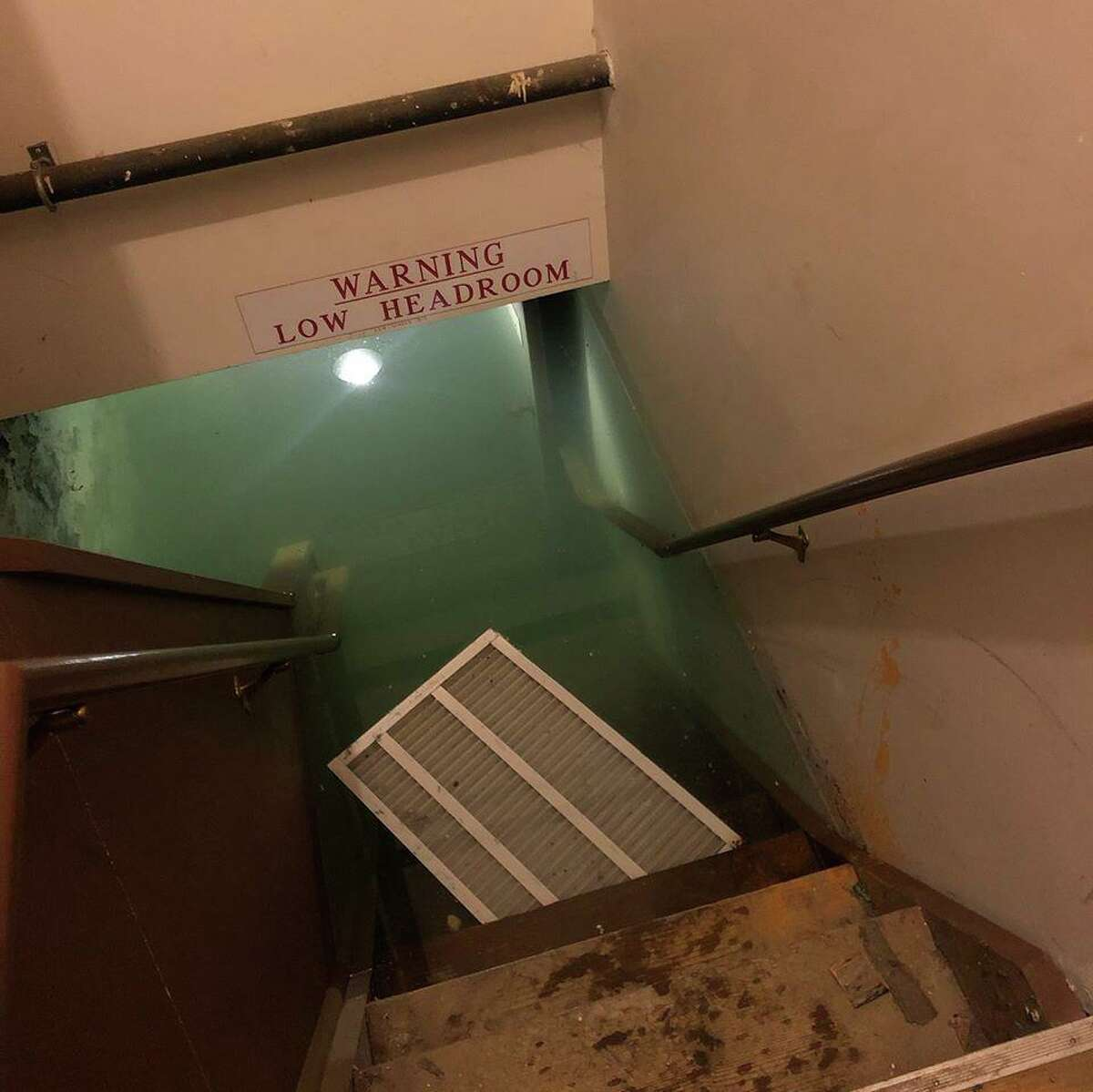 The Danbury Railway Museum's basement was flooded with seven feet of water on Monday, Dec. 2, 2019.