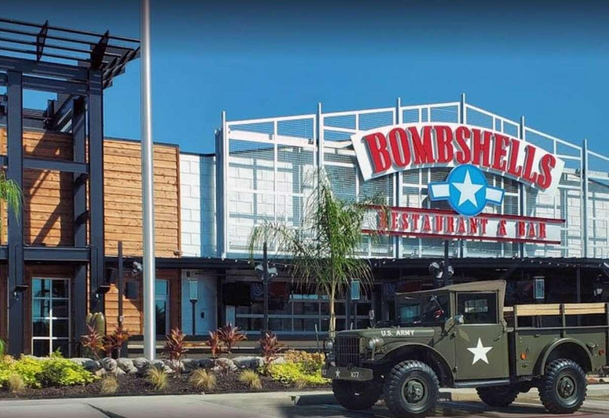 Katy: Bombshells 20516 Katy Freeway Total receipts: $331,385 Photo courtesy Bombshells/Yelp