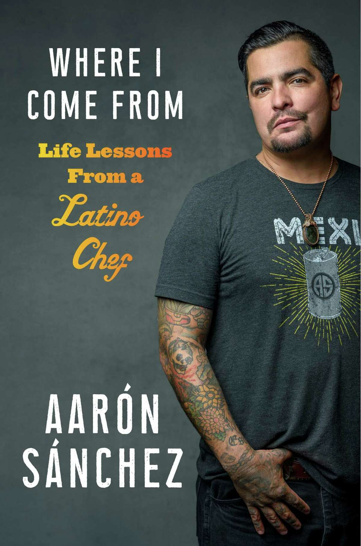 Chef and restaurateur Aaron Sanchez comes to Houston Dec. 5 for his book tour promoting