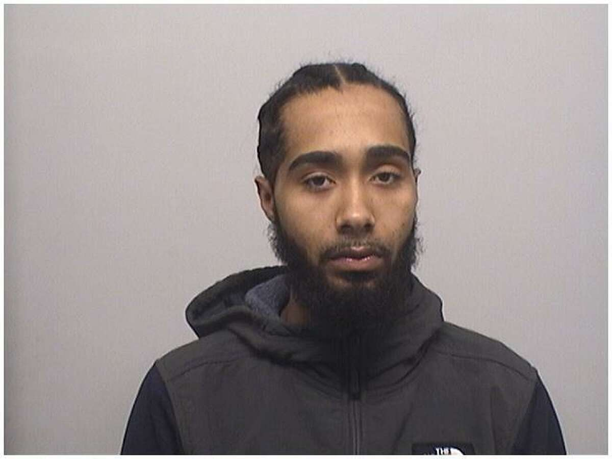 Richard Desmond, 27, of Stamford, was charged with possession of over 10 ounces of marijuana by Stamford police.