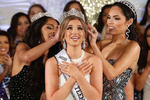 Laredo's Anissa Mendez took home the crown and the title of Miss Texas Teen USA after this weekend's pageant in Houston, Texas.