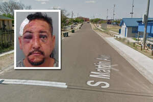A man has been arrested for stabbing a woman on Saturday in South Laredo, authorities said.