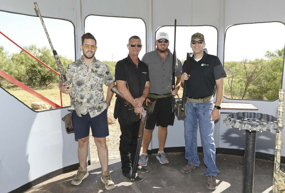 From left, Parker Holt, Chad Green, Joe Thaggard, Scott Thaggard - Team - Coat Inc.
