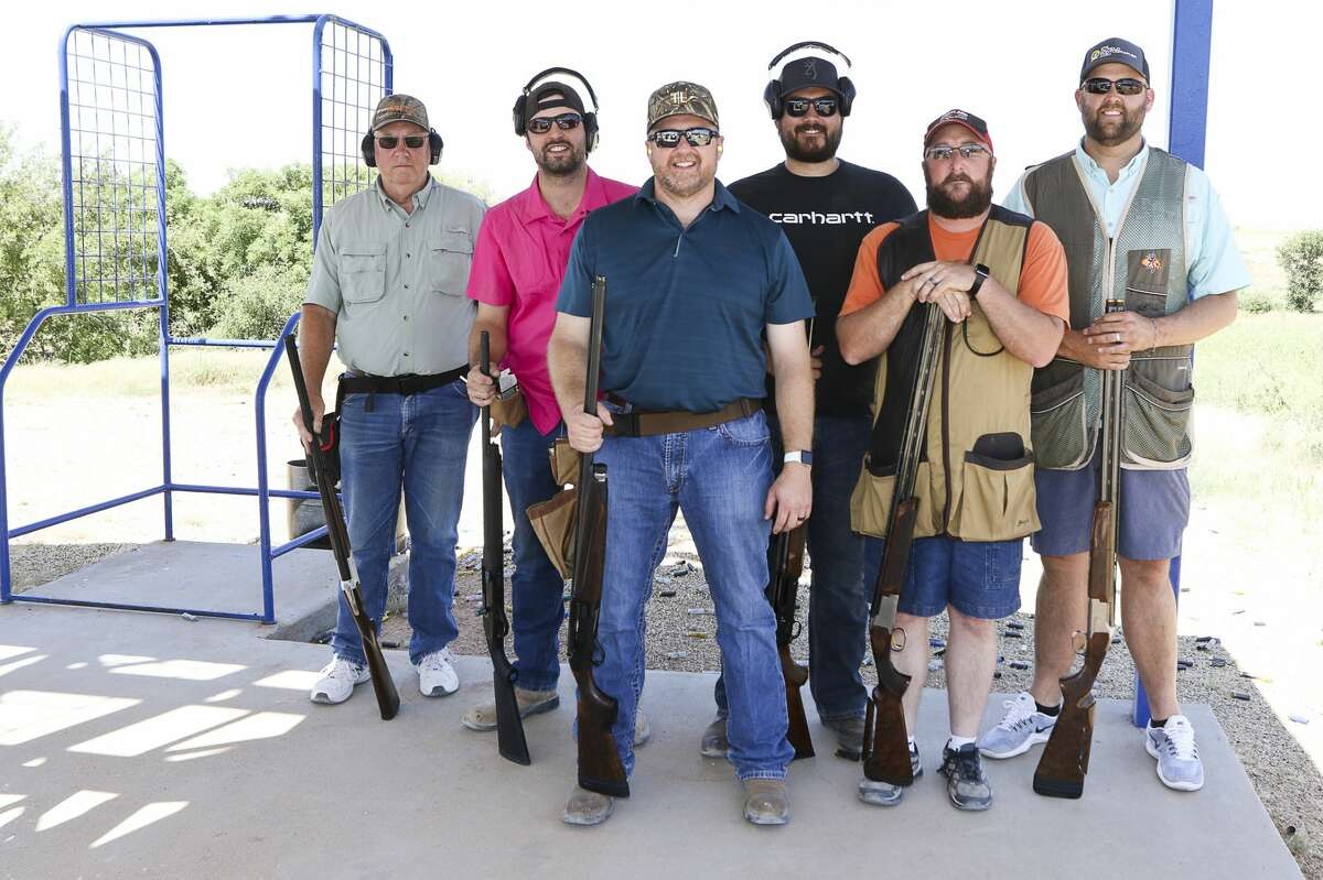 From left, Mike Glenn, James Durbin, Landon Merritt, Eric Ginnard, John Savoie, Mark Begeman. Team-