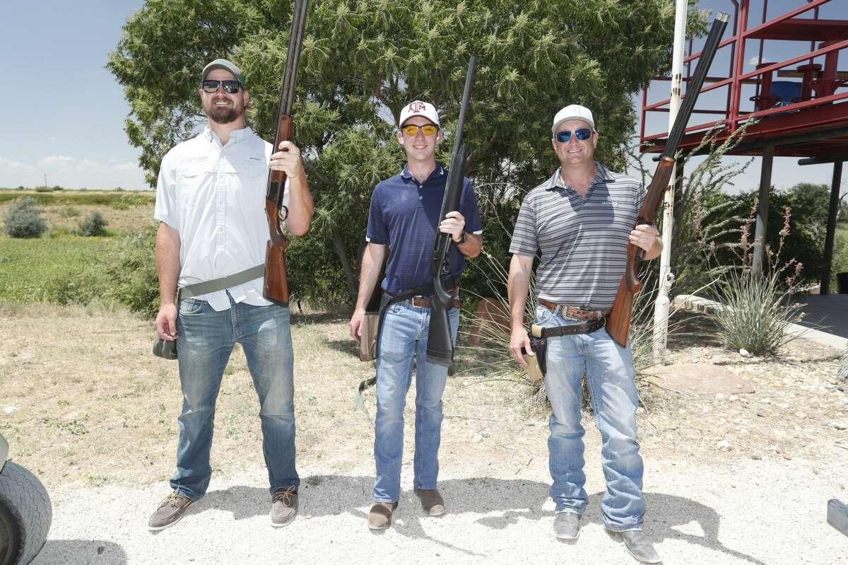 Trent Higgins , Aaron frey , Jeff Travis July 19, 2019.