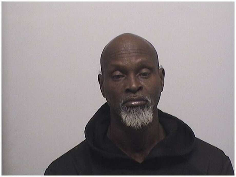Derek Mitchell, 57, of Pacific Street, was charged with possession of 37 bags of crack cocaine. Photo: Stamford Police Department / Contributed
